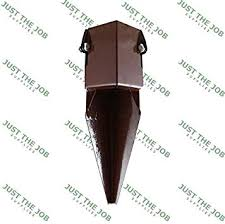 Fence Post Spikes Shoes Bolt Down Holders Easy Grip 50 75 100mm Garden Timber Support Stakes 1 4 100mm Repair Spike Amazon Co Uk Diy Tools