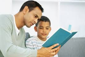 Image result for dad reading