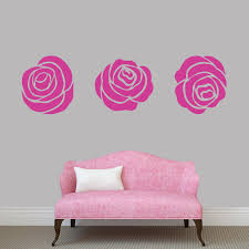 Set Of Roses Wall Decal Pack Sweetums Signatures