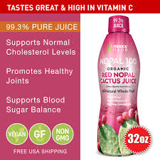 nopal red cactus juice 99 3 pure