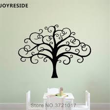Joyreside Tree Branches Wall Decal Kids Tree Musical Wall Sticker Art Vinyl Decor Home Children Bedroom Interior Design A837 Wall Stickers Aliexpress