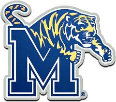 Amazon Com Memphis Tigers 3d Metal Die Cut Color Chrome Auto Emblem Decal University Of Automotive