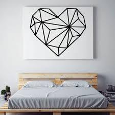 Love Wall Decal Geometric Vinyl Decor Wall Decal Customvinyldecor Com