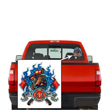 Collectible Firefighter Decals Share Your Support With Our Vinyl Firefighter First In Last Out Stickers For Your Home Car Cases And More Souvenir Gifts For Firefighter Walmart Com Walmart Com
