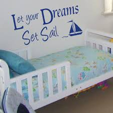 Wall Stickers Decals Blog Archive Let Your Dreams Set Sail Wall Sticker Quote