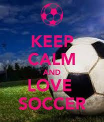 free keep calm and love soccer