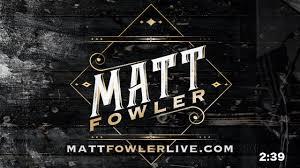 Happy Friday Y'all! - Join Matt & Adi... - Matt Fowler Live