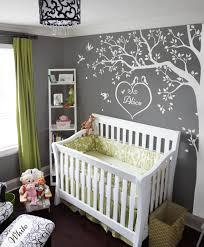 Nursery White Tree Wall Decals Wall Art Corner Tree Wall Decoration Kw006 Ebay