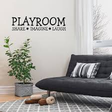 Shop Words Pattern Wall Sticker Removable Art Decal For Living Room Bedroom Black Overstock 29186911