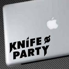 Knife Party Vinyl Sticker Car Decal Dubstep Skrillex Noisia Nero Deadmau5 Datsik Ebay
