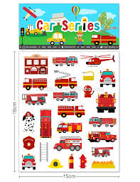 26 Pcs Vinyl Cartoon Fire Truck Car Airplane Stickers Decal Puffy Sticker Room Decoration Buy Puffy Sticker Stickers For Water Bottles Laptop Kids Toys Wall Sticker For Kids Product On Alibaba Com