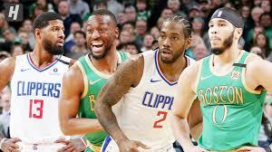 Los Angeles Clippers vs Boston Celtics ...