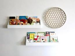 Book Shelves For Kids Room Nursery Book Shelf Wall Mounted Etsy