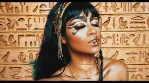 egyptian queen makeup tutorial bri