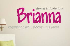 Wall Name Decal Great For Kids Room 12x24