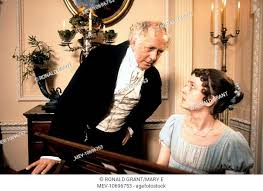 PRIDE AND PREJUDICE BENJAMIN WHITROW, POLLY MABERLY PRIDE AND PREJUDICE  BENJAMIN WHITROW, Stock Photo, Picture And Rights Managed Image. Pic.  MEV-10696753 | agefotostock