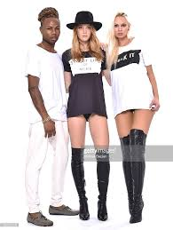 Dynasty Unleash Models, Marisa West, and model Mia J pose for portrait  wearing FACTIONEM by All Pima Apparel/ I… | Contemporary outfits, Clothing  brand, How to wear