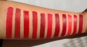 my top picks for red lipsticks