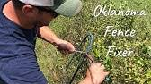 Texas Fence Fixer Livestockshed Com Youtube