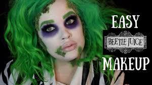 easy beetlejuice makeup tutorial