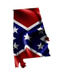 Alabama Rebel Flag Sticker Aftershock Decals