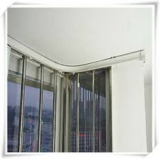 bendable straight curved curtain track