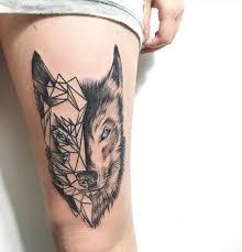 Tatuaze Z Wilkiem 17 Imponujacych Projektow Etatuator Pl