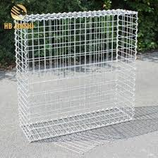 China Hot Dipped Galvanized Rock Welded Wire Stone Cage Gabion Basket China Gabion Basket Welded Gabion Basekt