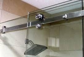 shower doors and door tracks