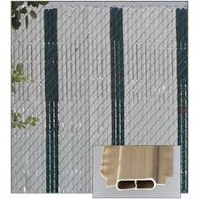 Decorative Chain Link Fence Privacy Slats Featherlock Slats Privacylink Sweets