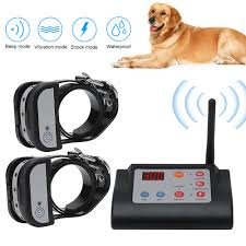 2 In 1 Wireless Electric Pet Dog Fence 4 Working Modes Dog Training Collars Waterproof Rechargeable Pet Containment System Aliexpress