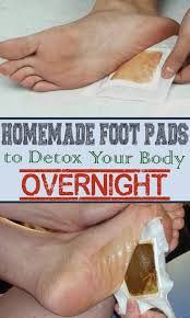 homemade foot pads to detox your body