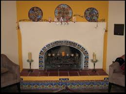 stucco and plaster fireplace photos in