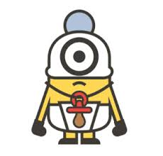 Minions Baby Minion Sticker Family Decal Popculturespot Com Shop For Bobble Heads Novelties Costume Accessories