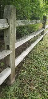 How Long Will Cedar Split Rail Wood Fence Last Hoover Fence Company Blog