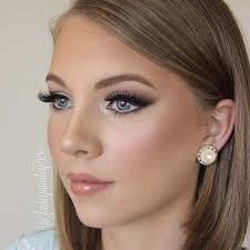 makeup with navy blue dress saubhaya