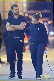 Joshua Jackson & Margarita Levieva Go for Late Night Dog Walk ...