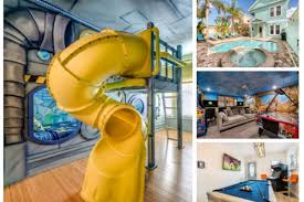 Luxury Fun Home With Kids Room W Slide Pool Hot Tub Theater Game Room More In Orlando Fl Expedia
