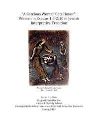 pdf a gracious w gets honor women in exodus in