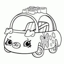 Shopkins Cutie Cars Kleurplaat Printen Kleurplaten Bladwijzer