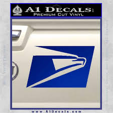 Usps United States Postal Service Decal Sticker A1 Decals