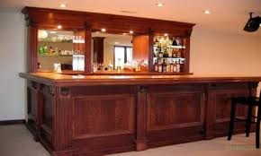 easy home bar plans how to build a
