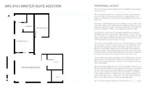 master bedroom addition layout