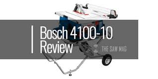 Bosch 4100 10 Review 10 In Worksite Table Saw