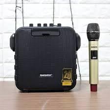 Loa kéo mini Temeisheng SL05-26 Hàng chính hãng , Loa nghe nhạc hát karaoke  cực hay + Tặng 1 micro + Bảo hành 12 tháng
