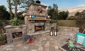 fireplaces tremron jacksonville pavers