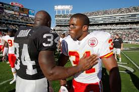 LaMont Jordan, Priest Holmes - LaMont Jordan and Priest Holmes Photos -  Kansas City Chiefs v Oakland Raiders - Zimbio
