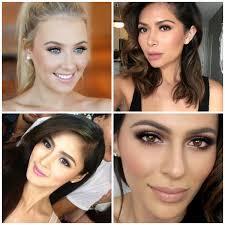 stylish wedding guest makeup b e a u t
