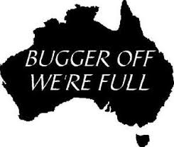 Bugger Off We Re Full Aussie Australian Australia Car Decal Sticker Ebay