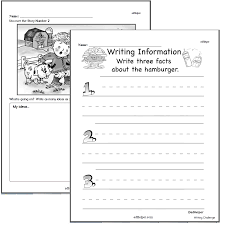 writing worksheets for creative kids